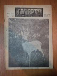 REVISTA CARPATII, VANATORE, PESCUIT, CHINOLOGIE, ANUL X ,  15 APRILIE CLUJ 1942, NR. 4
