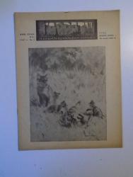 REVISTA CARPATII, VANATORE, PESCUIT, CHINOLOGIE, ANUL XV ,  15 MAI CLUJ 1947, NR. 5