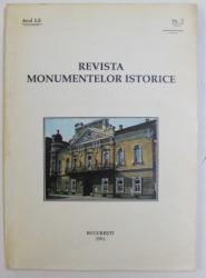 REVISTA MONUMENTELOR ISTORICE , ANUL LX , NR. 2 , 1991