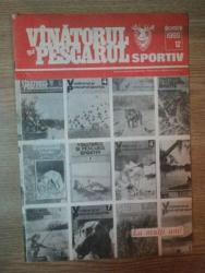 REVISTA ''VANATORUL SI PESCARUL SPORTIV'', NR. 12 DECEMBRIE 1988