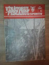REVISTA ''VANATORUL SI PESCARUL SPORTIV'', NR. 5 MAI 1988