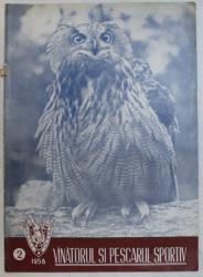 REVISTA VINATORUL SI PESCARUL SPORTIV , ANUL IX , NUMARUL 2 , 1956