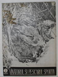 REVISTA VINATORUL SI PESCARUL SPORTIV , ANUL VII , NUMARUL 2, 1955