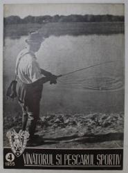 REVISTA VINATORUL SI PESCARUL SPORTIV , ANUL VII , NUMARUL 4 , 1955