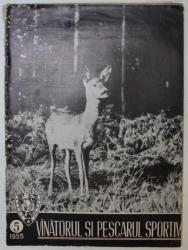 REVISTA VINATORUL SI PESCARUL SPORTIV , ANUL VII , NUMARUL 5 , 1955
