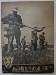 REVISTA VINATORUL SI PESCARUL SPORTIV , ANUL VII , NUMARUL 7 , 1955