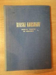 RIMSKI - KORSAKOV . MANUAL PRACTIC DE ARMONIE , 1955