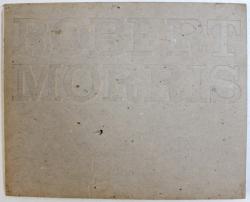ROBERT MORRIS by MICHAEL COMPTON, DAVID SYLVESTER