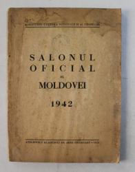 SALONUL OFICIAL  AL MOLDOVEI , ACADEMIA DE ARTE FRUMOASE IASI , 1941 , PREZINTA HALOURI   DE APA *