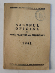 SALONUL OFICIAL DE ARTA PLASTICA AL MOLDOVEI , ACADEMIA DE ARTE FRUMOASE IASI , 1941