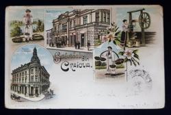 Salutari din Craiova - Carte postala ilustrata