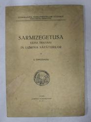 SARMIZEGETUSA ( ULPIA TRAIANA ) IN LUMINA SAPATURILOR de C. DAICOVICIU , 1938
