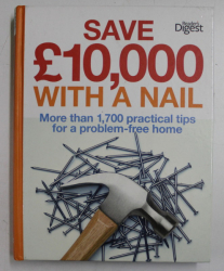 SAVE 10.000 WITH A NAIL  - MORE THAN 1.700 PRACTICAL TIPS FOR A PROBLEM - FREE HOME , 2011