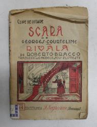 SCARA de GEORGES COURTELINE -  RIVALA de ROBERTO BRACCO , 1924