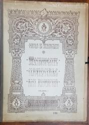 SCOALA DE ARHITECTURA, MONUMENTE NATIONALE DIN ROMANIA, VOL. I  de ARH. I. D. E. TRAIANESCU si G. PLACINTARU - BUCURESTI, 1923