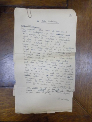 Scrisoare adresata lui Mihu Vulcanescu, semnata Al Mirodan