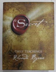 SECRET - DAILY TEACHINGS by RHONDA BYRNE , 2008