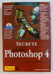 SECRETE ADOBE PHOTOSHOP 4 de GARY BOUTON si BARBARA BOUTON , 1999 , CONTINE CD*
