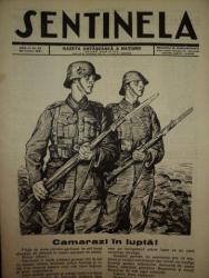 SENTINELA, GAZETA OSTASEASCA A NATIUNII, ANUL II, NR. 27, 22 IUNI 1941