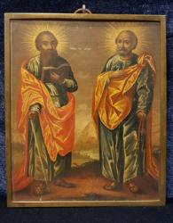 Sf. Apostoli Pavel si Petru, Icoana Romaneasca, 1821