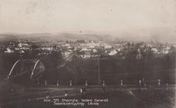 SFANTUL GHEORGHE , VEDERE GENERALA , CARTE POSTALA , 1930