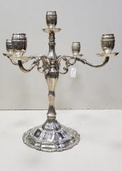 Sfesnic din argint cu 5 lumini