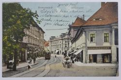 Sibiu , Hermannstadt - Strada principala