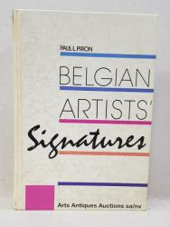 SIGNATURES D ' ARTISTES BELGES DES XIX e et XX e SIECLES , 1989