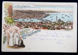 Souvenir de Constantinople - CP Ilustrata Clasica