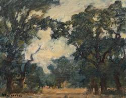 Stefan Popescu (1872-1948) - In padurea