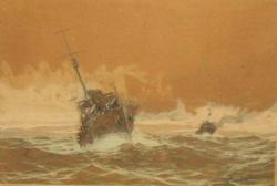 Stiubei Dimitrie (1901 - 1986), Nave de razboi spre port