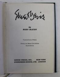STUART DAVIS by RUDI BLESH , 1960