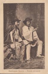 TARANI ROMANI , CARTE POSTALA , 1917