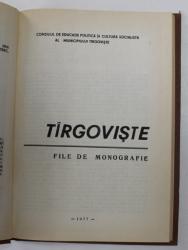 TARGOVISTE FILE DE MONOGRAFIE 1977