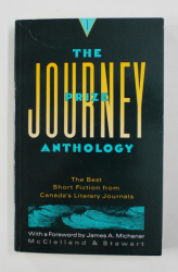 THE JOURNEY PRIZE ANTHOLOGY , THE BEST SHORT FICTION FROM CANADA , 1989