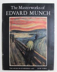 THE MASTERWORKS of EDVARD MUNCH  by ARNE EGGUM and JOHN ELDERFIELD , 1979