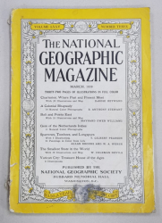 THE NATIONAL GEOGRAPHIC MAGAZINE , VOLUME LXXV , NUMBER THREE , MARCH 1939
