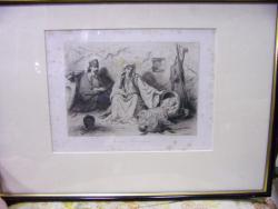 THEODORE VALERIO, INTERIOR MUNTENEGRIN , 1864
