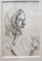 Traian Bradean (1927-2013) - Tanara mama
