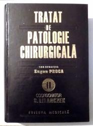 TRATAT DE PATOLOGIE CHIRURGICALA de EUGEN PROCA , 1998