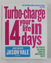 TURBO - CHARGE YOUR LIFE IN 14 DAYS by JASON VALE , 2014