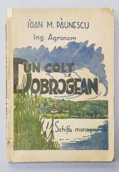 UN COLT DOBROGEAN - SCHITA MONOGRAFICA de IOAN M. PAUNESCU , 1945