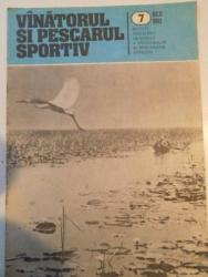 VANATORUL SI PESCARUL SPORTIV , REVISTA ASOCIATIEI GENERALE A VANATORILOR SI PESCARILOR SPORTIVI , NR. 7 , IULIE 1983