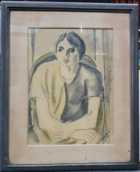 Vasile Dobrian (1912-1999) - Tanara