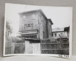 VILA CU ETAJ DEMOLATA , STR. SEBASTIAN NR. 133 , BUCURESTI , FOTOGRAFIE MONOCROMA, PE HARTIE LUCIOASA , ANII  '70  - '80