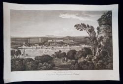 VUE GENERALE DE POLA , PULA , DALMATIE , CROATIE , CROATIA - GRAVURA ORIGINALA, 1802