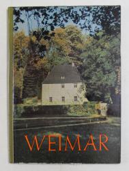 WEIMAR  - EIN GAND DURCH DIE STADT DER DEUTSCHEN KLASSIK , 1959
