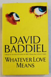 WHATEVER LOVE MEANSE by DAVID BADDIEL , 2000