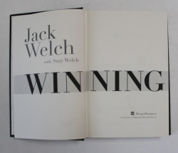 WINNING by JACK WELCH with SUZY WELCH , 2005