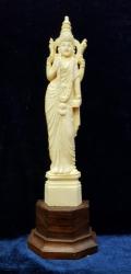 Laxmi, Zeita bunastarii , Zeitate Hindu - Statueta din fildes